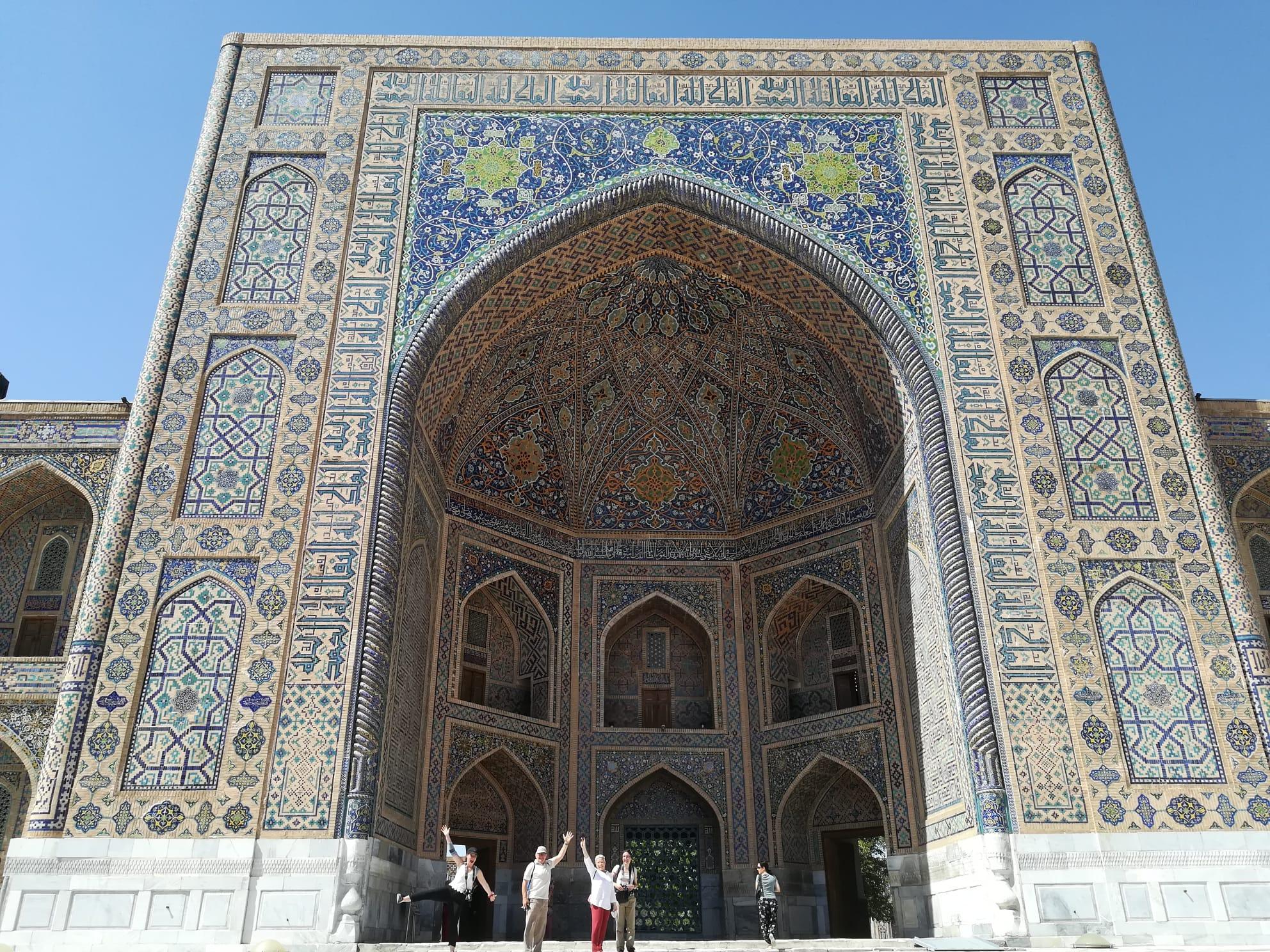 Orientalische Architektur - Seidenstrasse
